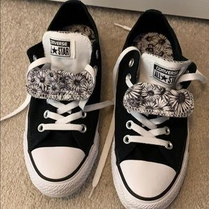 Converse all star sneakers black & white